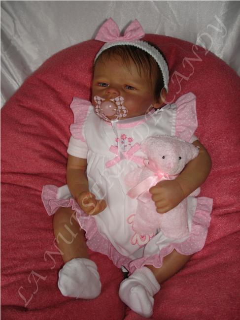 Bebe reborn fille : ophelia